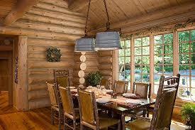 Log Cabin Dining Room Furniture