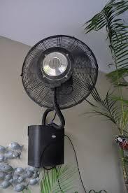 outdoor wall mount fans. Wall Mount Misting Fan Climate Australia Outdoor Fans