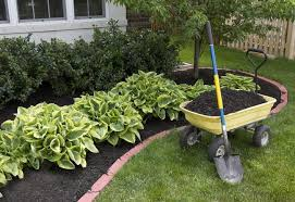 home depot garden border inspirational guide to add mulch to your garden at the home depot