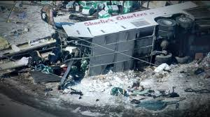 15 killed, 14 injured as truck plows into bus carrying Canadian ...