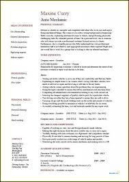 Mechanic Cv Bilir Opencertificates Co