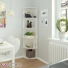 Vicco Eckregal Weiß Regal Küchenregal Badezimmer Gäs Real