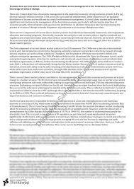 hsc economics labour market policies essay year hsc  hsc economics labour market policies essay