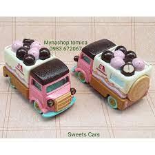 Xe mô hình tĩnh tomica - Sweets Cars - xe bán bánh kẹo.