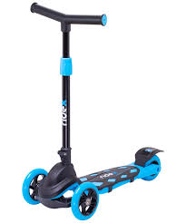 <b>Самокат</b> 3-х колесный <b>RIDEX 3D Robin</b> (120/90 мм), цвет: голубой