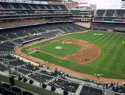 Target Field Baseball Seating Chart Target Field Section 206 Seat Views Seatgeek