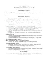 Business Analyst Resume Format Business Analyst Resume Summary Full