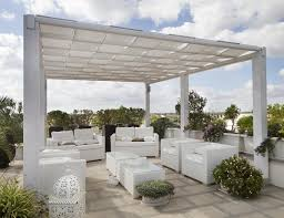 one advantage to a flat roof is that it offers the opportunity to create terraces or gardens on top of a home