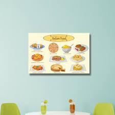 italian food graphic art on wrapped canvas on wall art pictures of food with italian food wall art wayfair
