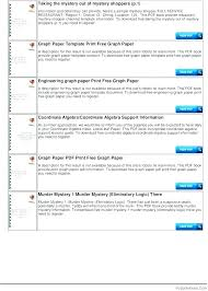 Graph Paper Template Squares Mm Print Printable Grid