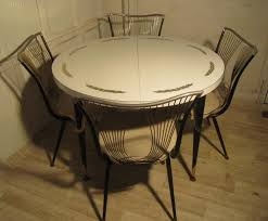 Round Formica Table Antiques Atlas 1960 70s Retro Round Formica Table And 4 Chairs