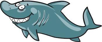 smiling shark clipart. Modren Clipart Smiley Shark Clip Art  Smiling Shark Vector Painted To Clipart K