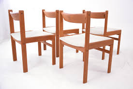 vintage teak furniture. Retro Dining Chairs In Teak With Upholstered Seats And Wood Back Rest. Vintage Furniture I