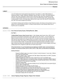 Muhammad Anwar Senior Roads and Highway Engineer Resume SUMMARY I am a  Civil Engineer with 10 ...