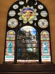 Tiffany Stained Glass at the Brown Memorial Baptist Church