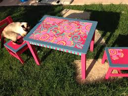 painted furniture ideas tables. Painted Childrens Table And Chairs Rocking Chair Ideas Best Paint For Kids Room Teenager Boy Bedroom Furniture Tables E