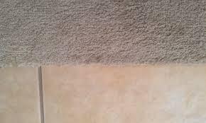 ceramic carpet to tile transition