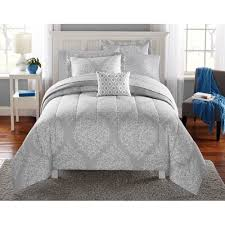 mainstays leaf medal bed in a bag bedding set  walmartcom