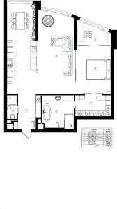 Loft Design Floor Plan Gallery Of Loft In Kyiv Martinarchitects 24