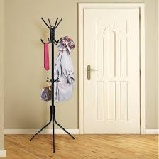 Coat And Hat Rack Stand OxGord Coat Hat Metal Rack Organizer Hanger Hook Stand for Purse 88
