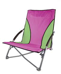 com stansport low profile fold up chair blue orange sports outdoors