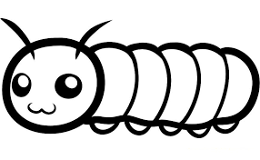 Small Picture Caterpillar Coloring Pages All Coloring Page