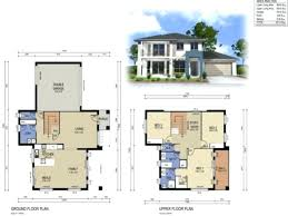 small two story house modern small two story house plans home design floor with garage y