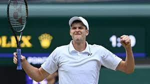 Wimbledon tennis - 'Hubert Hurkacz made ...