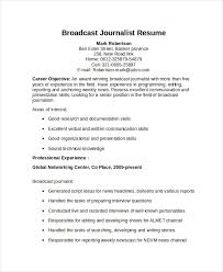 Journalism Resume Examples Best Journalist Resume Template 28 Free Word PDF Document Download