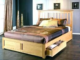 king size wood bed frame – urbanalchemy.co