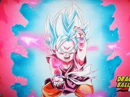 DB GT Kid Goku Blue Kaioken 4K Live ...