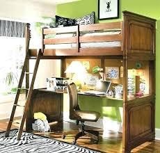 loft bunk bed desk with combo beds for de