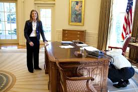 obamas oval office. President Barack Obama Examines The Resolute Desk On March 3, 2009, While Visiting With Obamas Oval Office I