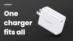 One <b>charger</b> fits all | <b>Ugreen</b> 30W PD <b>USB</b>-C fast <b>Charge</b> - YouTube