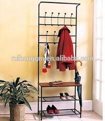 Coat Rack Organizer Rh100 Entry Way Hall Tree Bench Furniture Hook Hanger Organizer 43