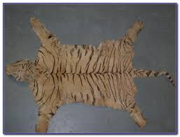 tiger skin rug story