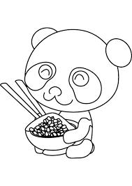 Panda Coloring Sheets Cute Panda Coloring Pages Getcoloringpages