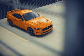 2022 ford mustang the most aggressively organized detroit muscle cars always conjure up images of massive burnout and blackouts, a byproduct of the genre's typical powertrain layout: The 2022 Ford Mustang Will Have A V8 With Hybrid Power