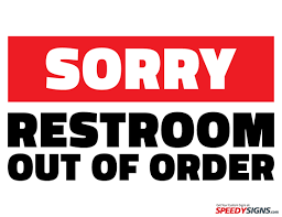Out Of Order Sign Template Google Search Signs Pinterest