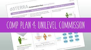 Doterra Compensation Plan Unilevel Commission Essentialpro