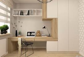 Minimalist home office design Workplace Interior Design Ideas 37 Minimalist Home Offices That Sport Simple But Stylish Workspaces
