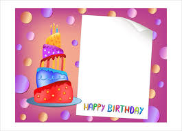 Free Blank Greeting Card Templates Cool 48 Birthday Card Templates PSD AI EPS Free Premium Templates