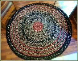 braided rugs round rug sears circle cotton 5 6 8