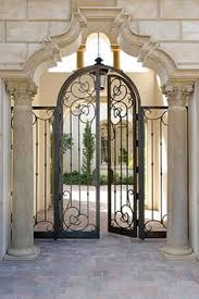 front door gateIron Gates For Front Doors I18 About Remodel Trend Home Design