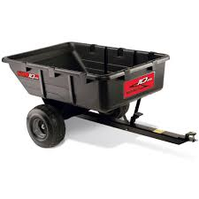 brinly hardy 10 cu ft 650 lb tow behind utility cart