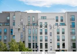 Modern apartment building facade - new apartment buildings exterior