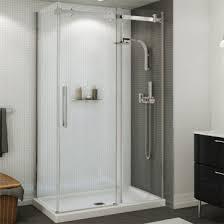 maax halo sliding shower door 44 1 2 47 in door