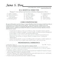 Core Qualifications Resume Examples