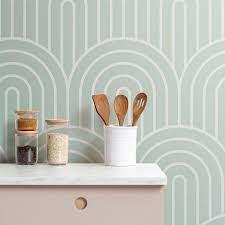 20 Gorgeous Wallpaper Backsplash Ideas