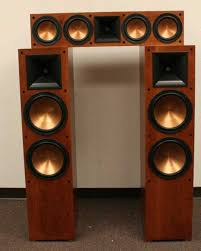 klipsch speakers for sale. klipsch cherry rf-7ii speakers (pair) rc-64ii (each) package price home theater for sale h